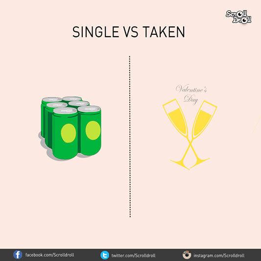 Single Vs Taken 8