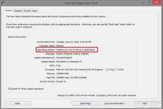Cara Melihat Bit Laptop Windows 8 Custom 73596