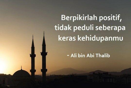 Kata Kata Bijak Ali Bin Abi Thalib 25947