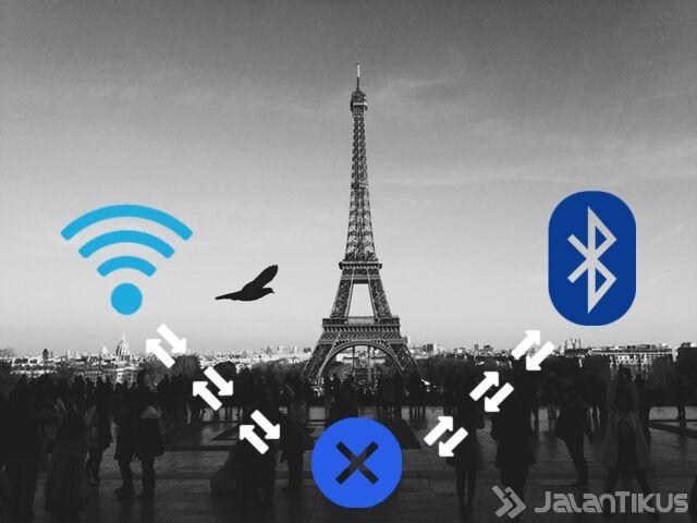 Wi-Fi tidak mengganggu blutooth