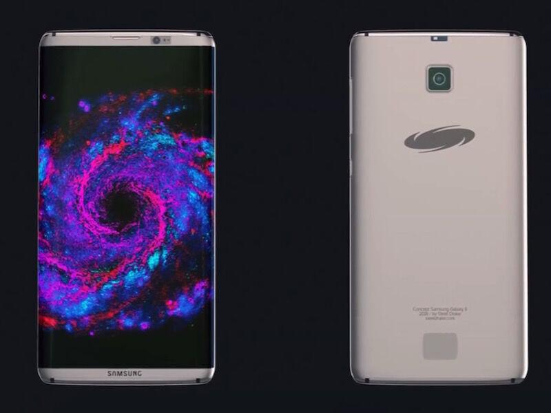 konsep Samsung Galaxy S8