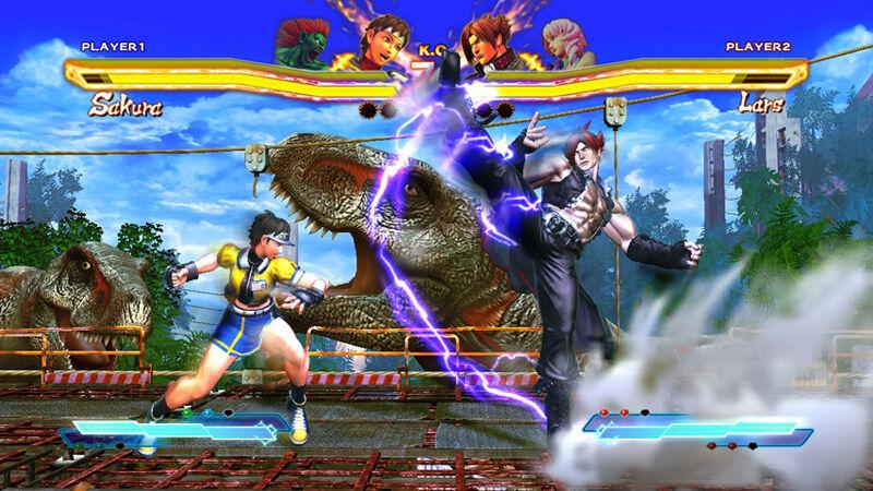 Street Fighter X Tekke