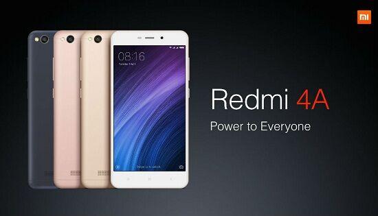 Smartphone Android murah terbaik 2017, Xiaomi Redmi 4A