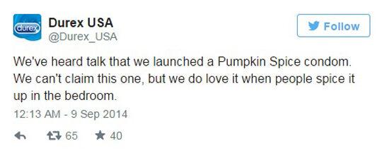Durex Pumpkin Spice