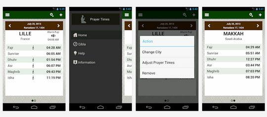 Prayer Times Apps