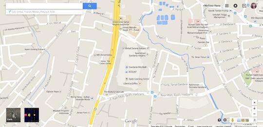 Peta Gandaria City Untuk Pacman
