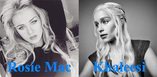 Rosie Mac Khaleesi