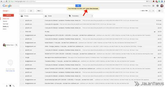 Gmail Undo Send 5