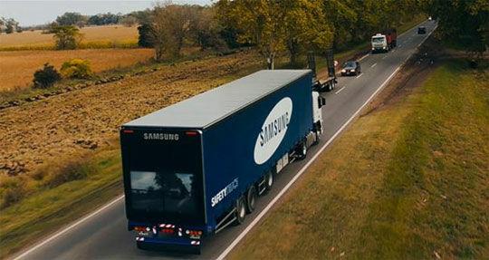 Samsung Safety Truck 1