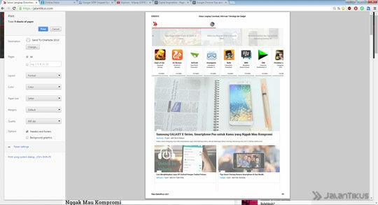 Chrome Print