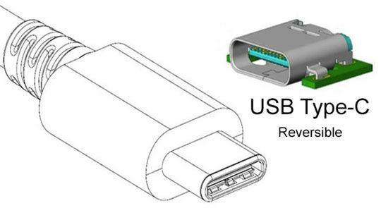Usb Type C Reversible