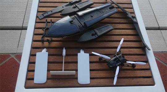 Hydrofoil Drone 4