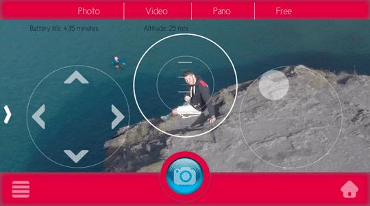 Penampak Tampilan Zone App