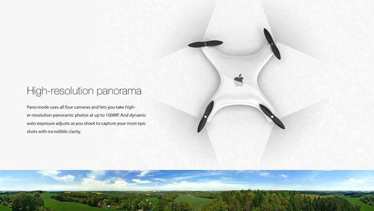 Apple Drone Camera