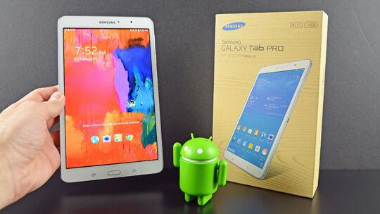 Samsung Galaxy Tab Pro 84 With Iris Scanner