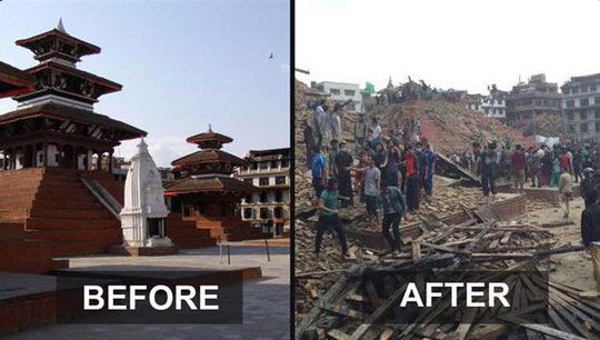 Nepal Before After