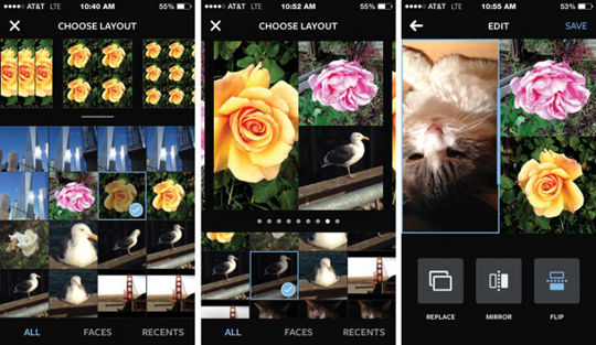 Instagram Layout For Ios