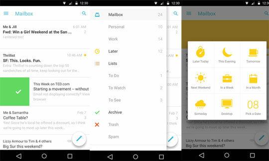 Mailbox Apps