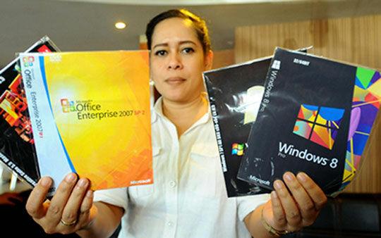Software Windows Bajakan