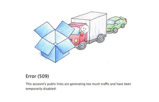 Error 509