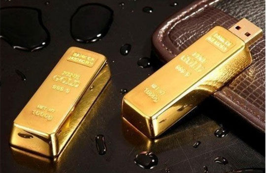 Flashdisk Gold Bar