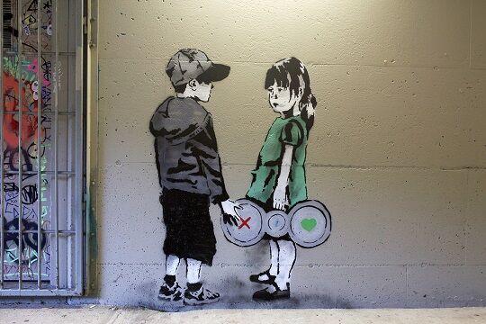 Graffiti Sindir Pengguna Internet 4