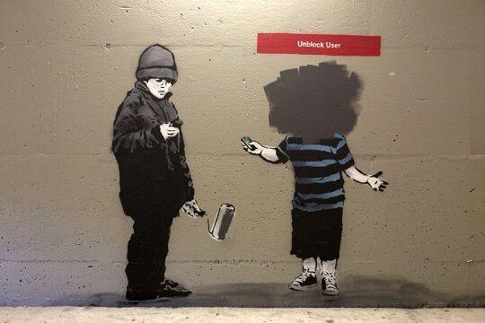 Graffiti Sindir Pengguna Internet 5 1