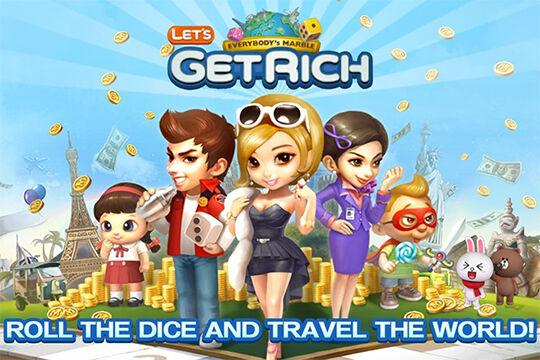 game seru Line lets get rich