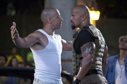The Rock Vs Vin Diesel E8eec