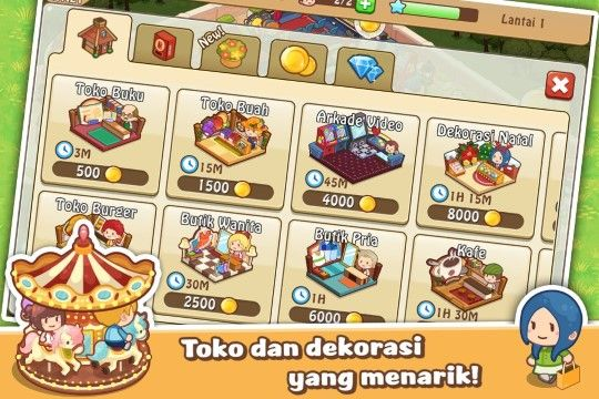 Happy Mall Story Mod Apk Unlimited Golds And Diamonds 78e01