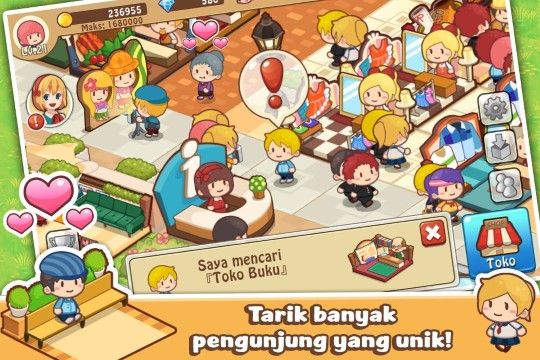 Happy Mall Story Mod Apk V1 1 2 1 1 2 Mod Unlimited Golds And Crystals Eb071