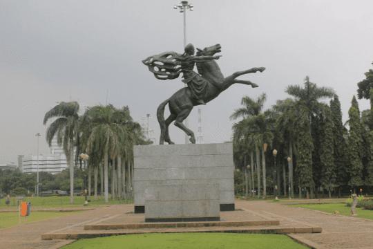 Patung Kuda Kaki Depan Terangkat Pangeran Diponegoro 0c81f