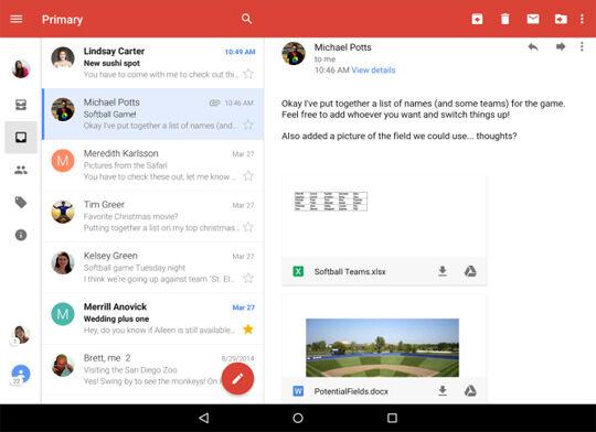 Update Gmail Terbaru