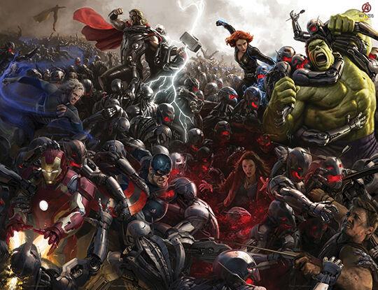 Full Poster Avengers Age Of Ultron