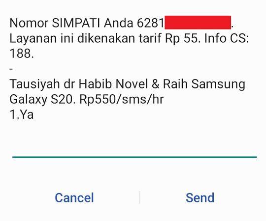 55 6ee75 - 3 Cara Mudah Cek Kuota Telkomsel