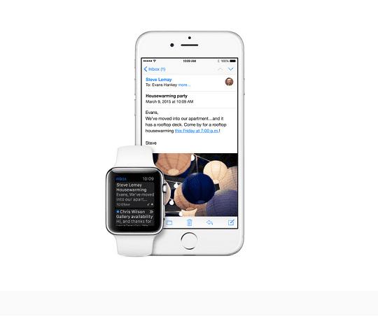 Koneksi Apple Watch