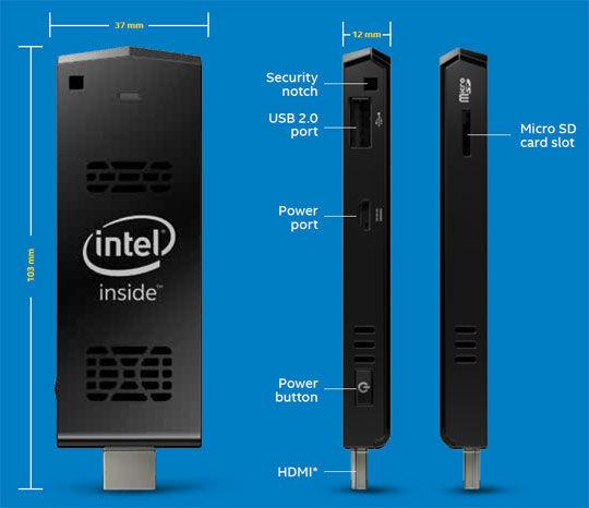 Intel Compute Stick 4