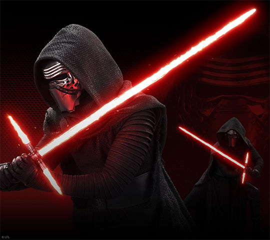 Kylo Ren Light Saber 1