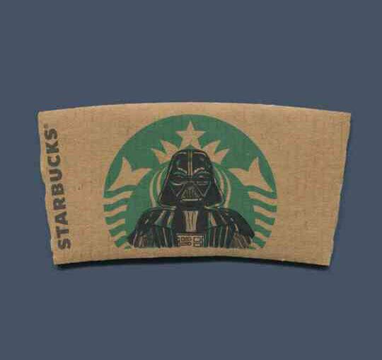 Starbucks Darth Vader