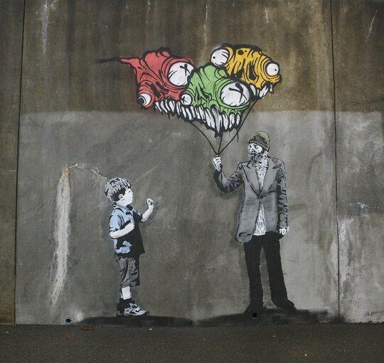 Graffiti Sindir Pengguna Internet 18