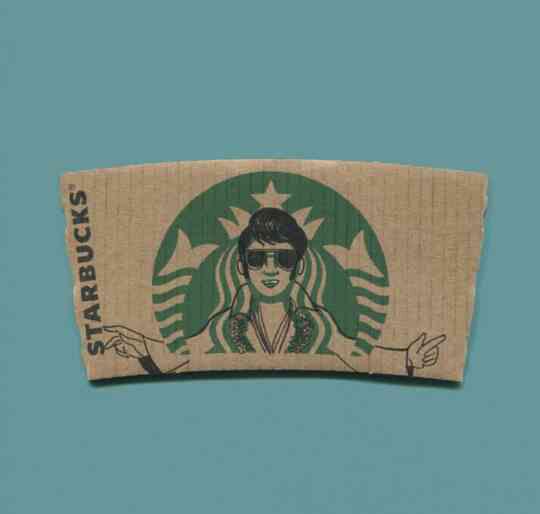 Starbucks Elvis Presley