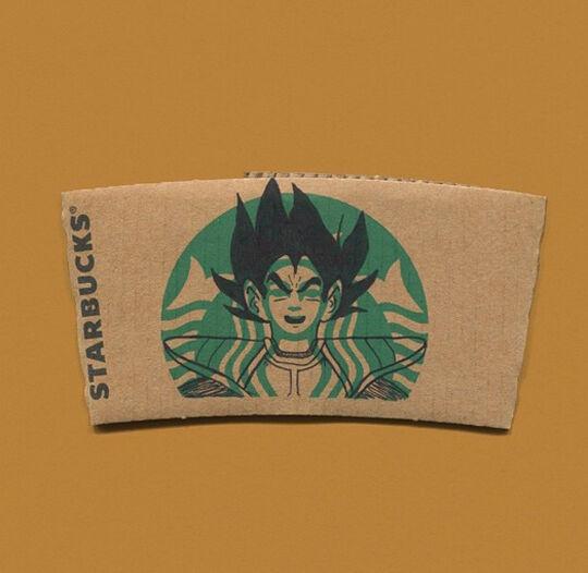 Starbucks Goku