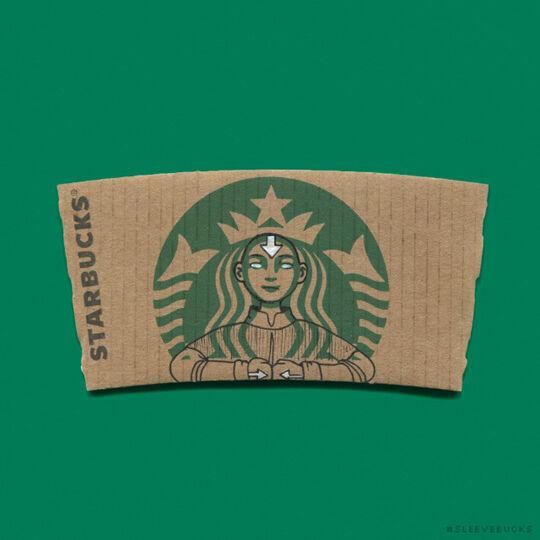 Starbucks Avatar Aang