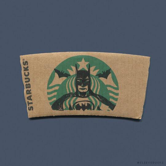 Starbucks Batman