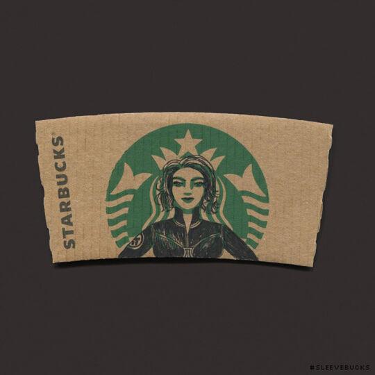 Starbucks Black Widow