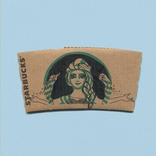 Starbucks Elsa