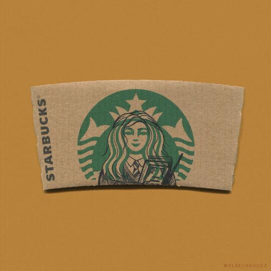 Starbucks Hermione