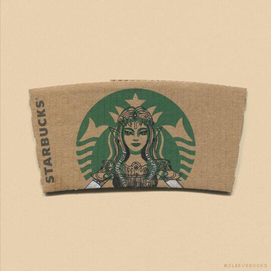 Starbucks Princess Zelda