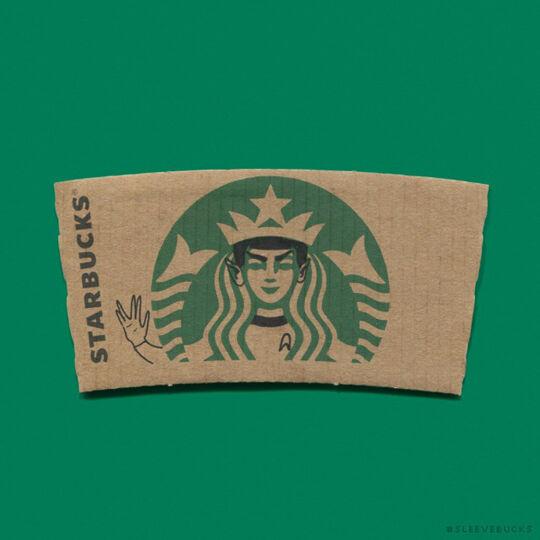 Starbucks Spock