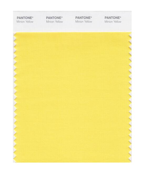 Pantone Minion Yellow Sheet
